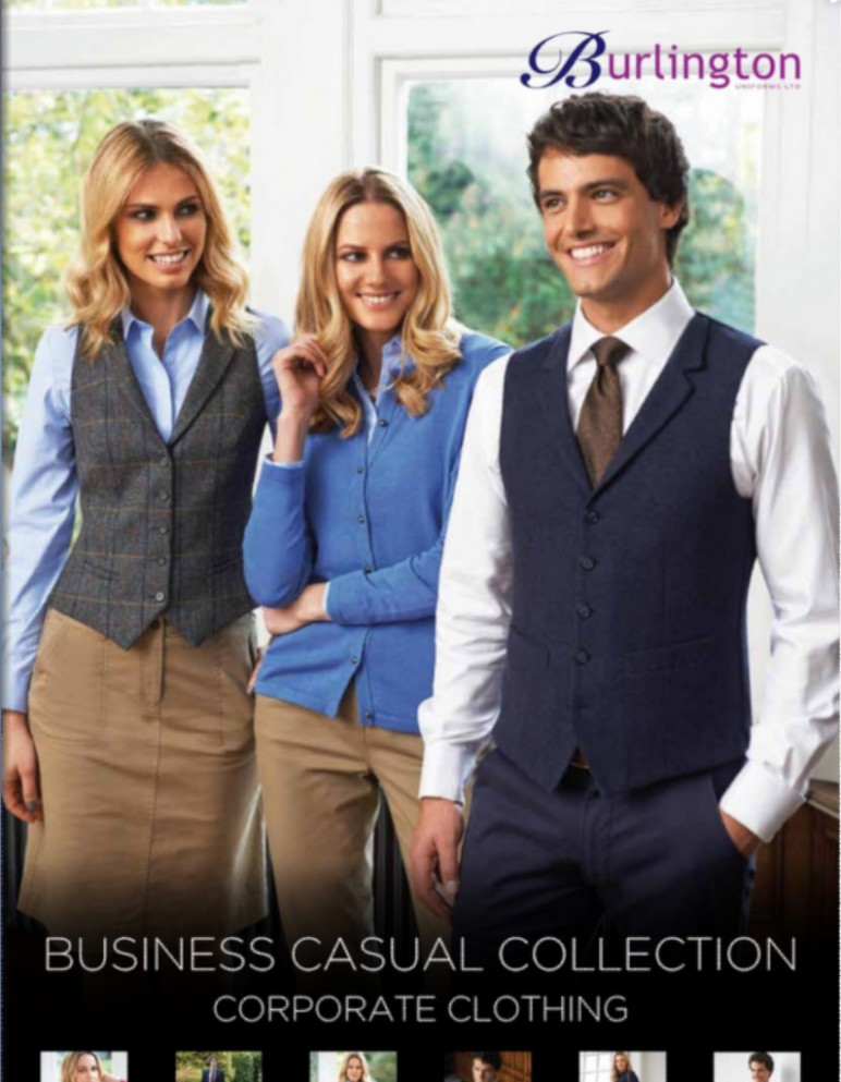 Business Casual Brochure