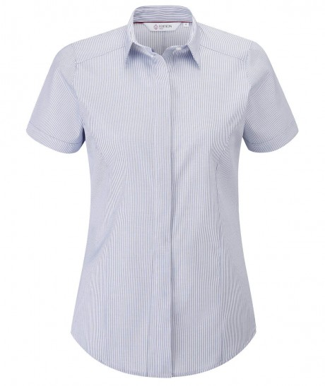 Nuala Short Sleeve Stripe Blouse  image