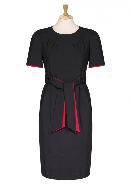 Bespoke Red Black Dress  image