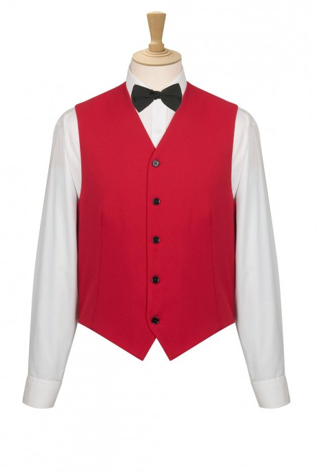 Waiters uniform with bow tie  image