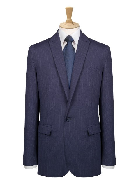 Avignon One Button Slim Fit Jacket  image