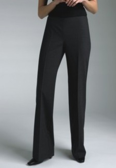 Wool Blend - Maria Parallel Leg Trouser  image