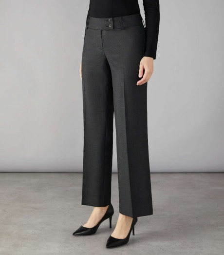 Brompton Fashion Trouser with Wide Waistband  image