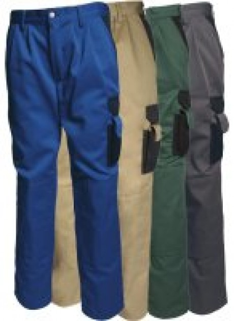 Trousers with Knee Pockets  image