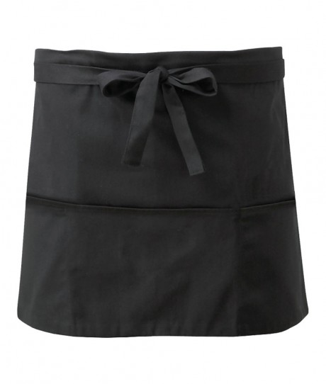 Short Apron With Pockets  image