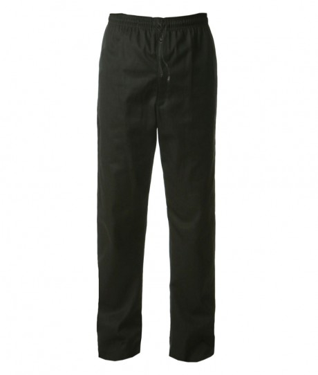 Unisex Chef's Black Trousers  image