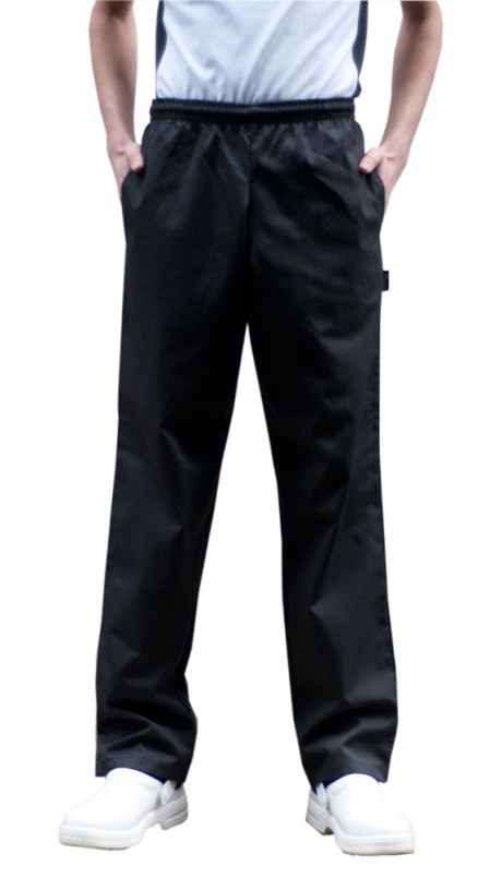 Dennys Unisex Elasticated Chef's Trousers  image