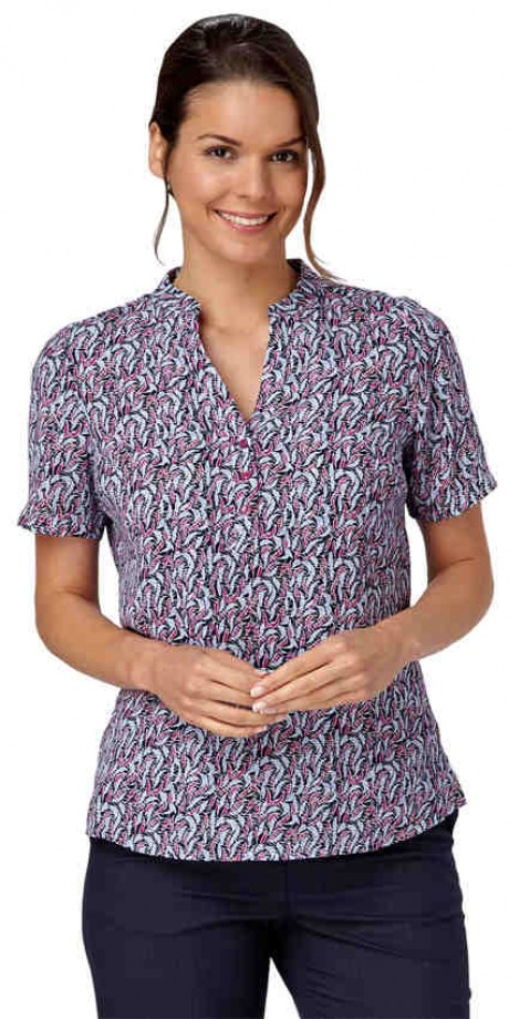 Billie Short Sleeve Popover  image