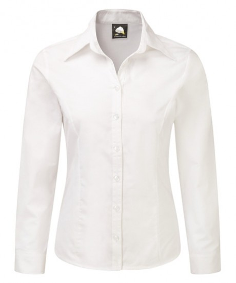 Classic Long Sleeve Oxford Blouse  image