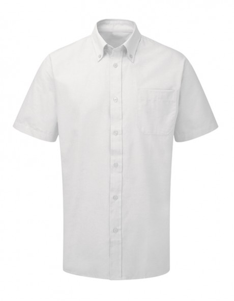 Men's Classic Short Sleeve Oxford Shirt  image