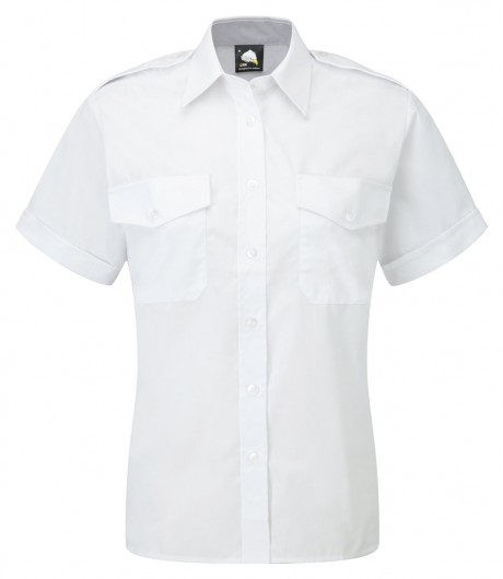 Ladies Pilot Short Sleeve Blouse  image