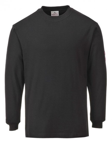 Flame Resistant Anti-Static Long Sleeve T-Shirt  image