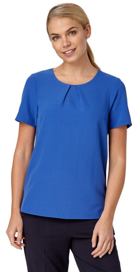 Libby Short Sleeve Shell Top  image
