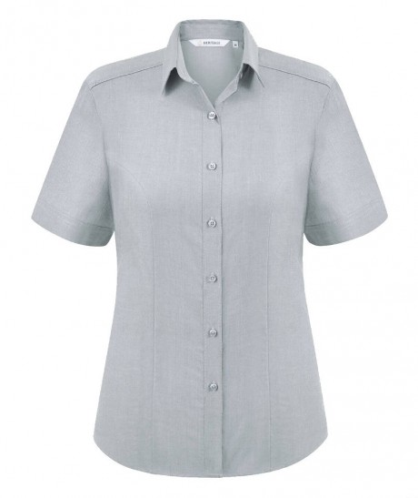 Megan Oxford Short Sleeve Blouse  image
