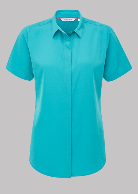 Erin Short Sleeve Soft Touch Blouse  image