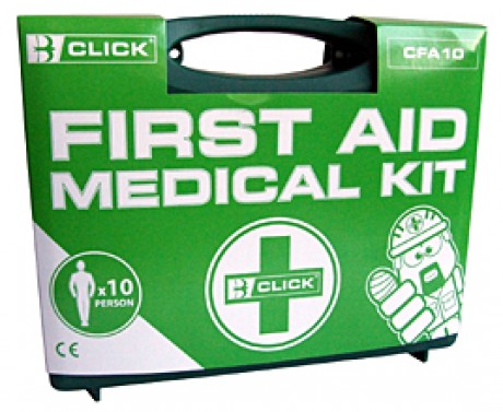 First Aid Kit for 1-10 persons  image