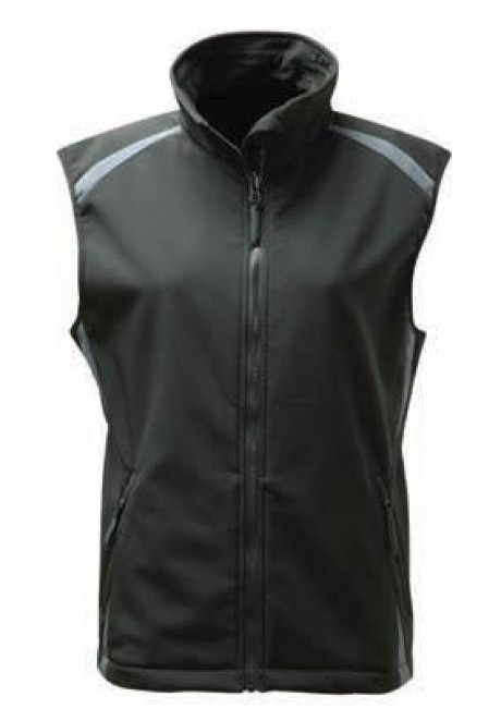 Black Knight Jet Ladies Soft Shell Gilet  image