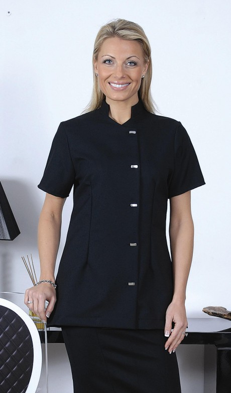 Stand-Collar Beauty Tunic  image