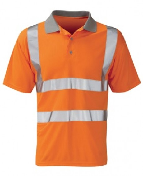 Hi-Vis Short Sleeve Polo  image