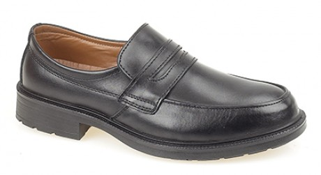 S1 Grafters Saddle Front Slip-On Safety Shoe  image