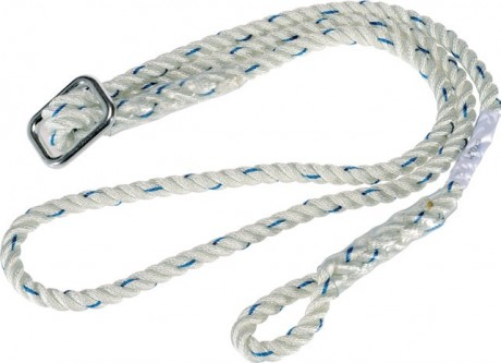 ADJUSTABLE WORK POSITIONING LANYARD WITH REDUCER  image