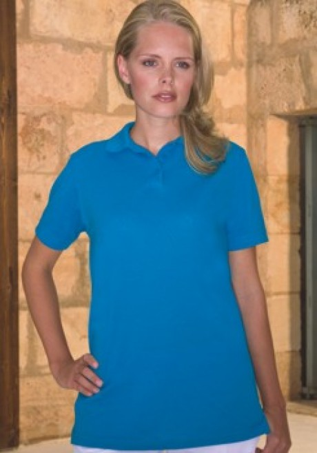 Ladies Fit Poly/Cotton Polo Shirt - 185gsm  image