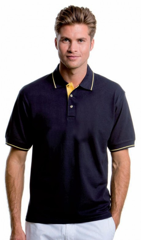 100% Cotton Tipped Polo Shirt - 210gsm  image