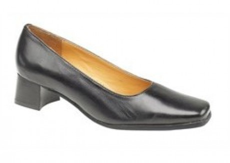 Footsure Walford Extra Wide Court Shoe  image