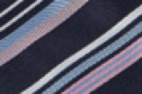 Pink/Navy Diagonal Stripe (26)