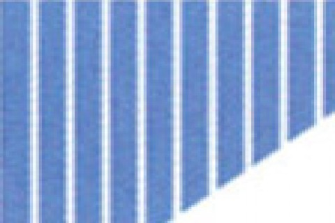 Pale Blue Stripe/ White Trim (50)